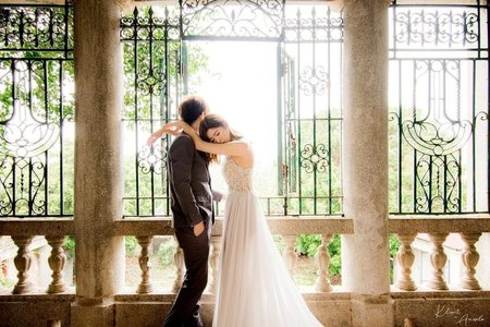 婚紗攝影 克林姆與安淇拉的攝影棚