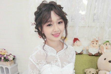 白紗造型/新娘秘書/金琦Dora