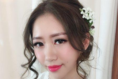金琦Dora Makeup Studio/新娘秘書/白紗造型
