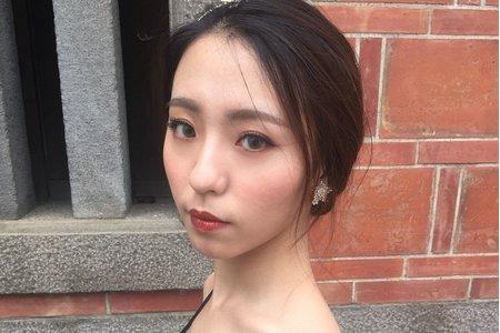 金琦Dora Makeup Studio/低盤髮
