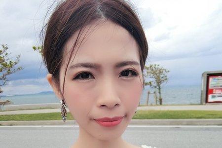 新秘金琦/海外婚紗/自主婚紗/桃園新秘