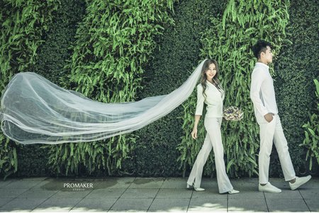 韓系自主婚紗