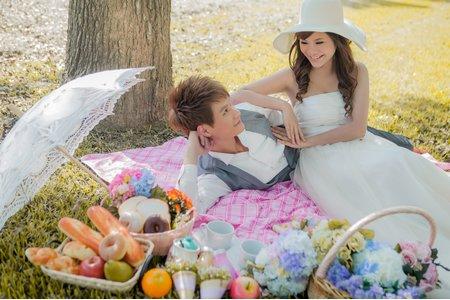 【自助婚紗】貴芳+曉珊@飛牛牧場