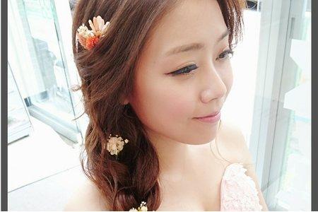 ?韓系花飾 ?葉片風格