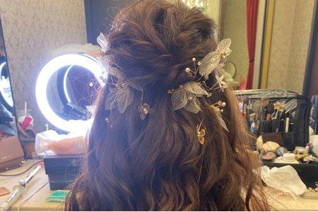 浪漫仙女編髮