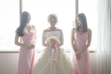 高雄義大皇家花園婚禮紀錄 國際廳 二週年快樂!