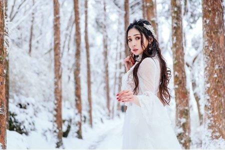 Nico妮可彩妝造型-雪精靈