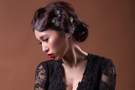 Nico妮可彩妝造型-黑色復古造型