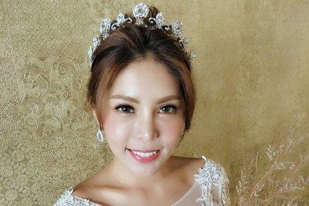 Nico妮可彩妝造型-甜美白紗