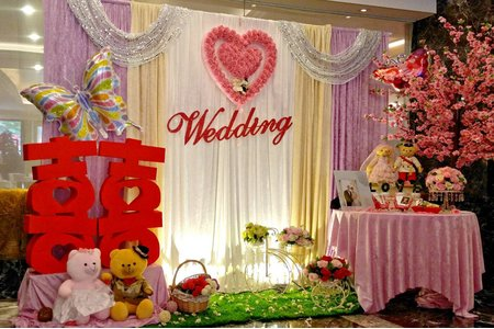 蓓麗宛婚禮時尚 婚禮佈置