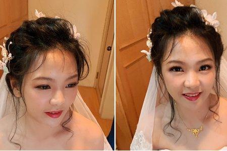 桃園新秘、台北新秘💕新郎秘書美娟Ivy