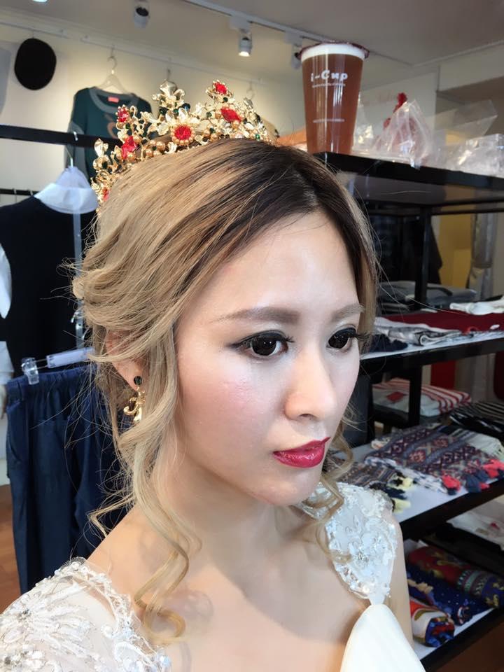 Zoe Studio彩妝造型新娘秘書作品