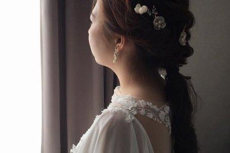 2017/10/21集團婚禮造型