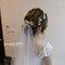 新娘秘書推薦 新秘雨晴|白紗造型|乾燥花飾品