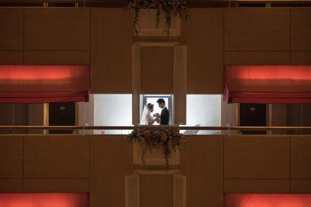 婚攝罐頭- 翰品酒店&水源會館玫瑰廳婚禮紀錄│明佑+碧真