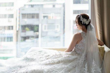 婚攝罐頭-台北大倉久和大飯店久和廳婚禮記錄│崇翊+幼羚