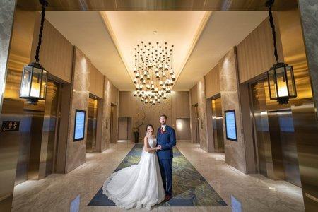 婚攝罐頭-格萊天漾大飯店天漾廳婚禮記錄│Andrew+林明