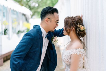 婚攝罐頭-青青花園食尚會館神木庭院婚禮記錄│孟甫+芳維