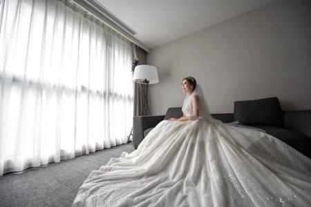 婚攝罐頭-大直典華似錦廳婚禮記錄│博勛+佩倫
