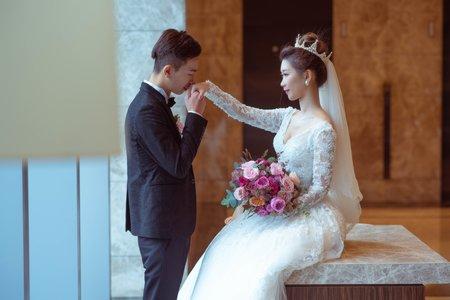 婚攝罐頭-南港六福萬怡酒店宴會廳婚禮記錄│書瑜+冠霖