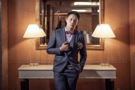 婚攝罐頭-台北威斯汀六福皇宮婚禮記錄│紘逸+之勤