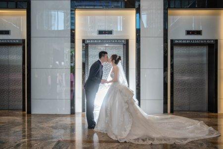 婚攝罐頭-新店彭園會館國際宴會廳婚禮記錄│燦成+曉菁