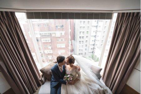 婚攝罐頭-晶華酒店3F宴會廳婚禮記錄│慈珣+俊傑