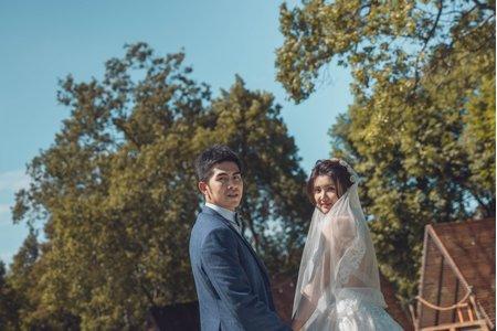 婚攝罐頭-桃園晶麒莊園雪松廳婚禮記錄│至齊+葦婷