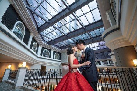 婚攝罐頭-君悅酒店凱悅廳婚禮記錄│伯駿+敏敏