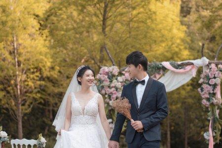 婚攝罐頭-青青花園食尚會館星空之森婚禮記錄│家樺+奇勳