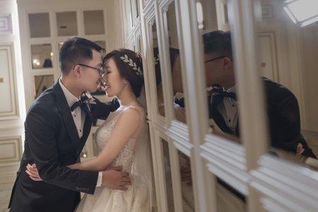 婚攝罐頭-囍宴軒婚禮記錄│淳逸+芷葳