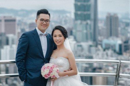 婚禮攝婚攝罐頭-香格里拉台北遠東國際大飯店婚禮記錄│信瑋+黃昶影