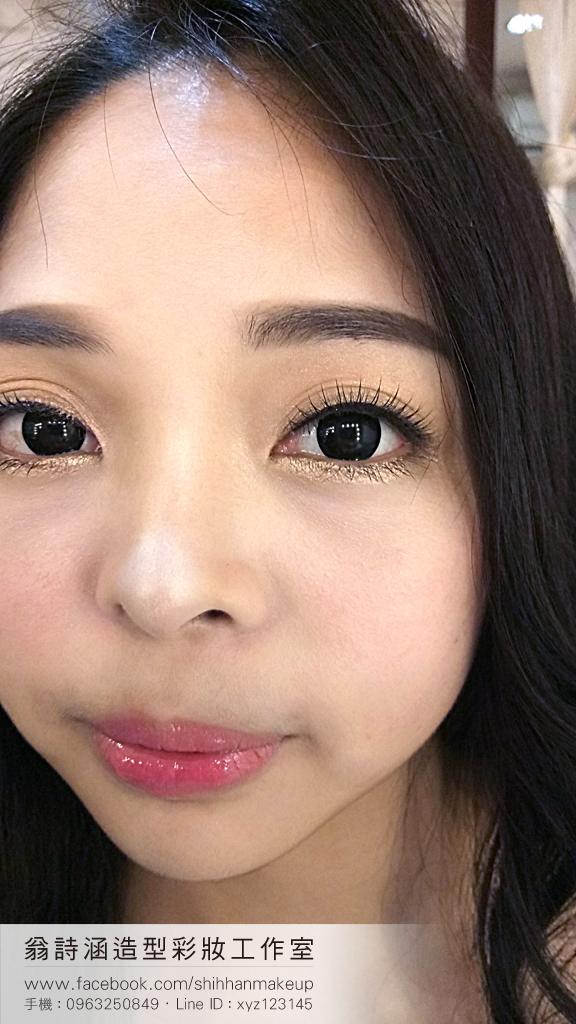 眼型調整、新娘彩妝(翁詩涵造型彩妝工作室)(編號:712935) - 翁詩涵造型彩妝工作室(台北 花蓮 新秘) - 結婚吧