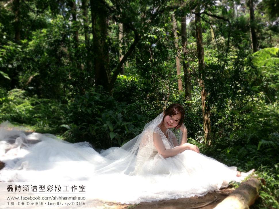 新娘造型(翁詩涵造型彩妝工作室)(編號:894603) - 翁詩涵造型彩妝工作室(花蓮 台北新秘) - 結婚吧