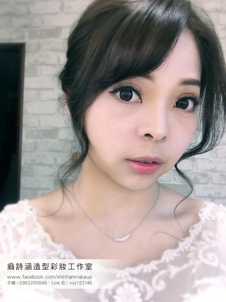 眼型調整、新娘彩妝(翁詩涵造型彩妝工作室)(編號:894604) - 翁詩涵造型彩妝工作室(台北 花蓮 新秘) - 結婚吧