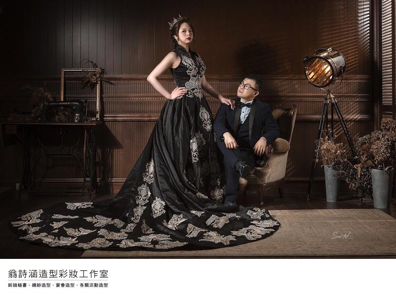 自助婚紗-翁詩涵造型彩妝工作室