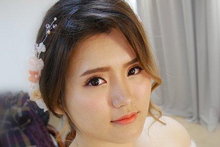 新娘造型(台北 花蓮 全台新秘)翁詩涵造型彩妝工作室