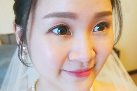 結婚造型(台北 全台新秘)翁詩涵造型彩妝工作室