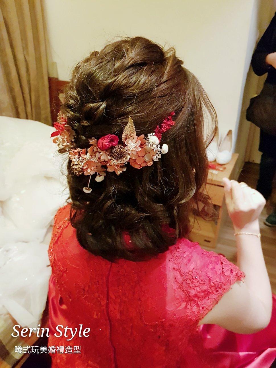 文定奉茶X短髮新娘編髮3 - Serin Style曦式玩美造型《結婚吧》
