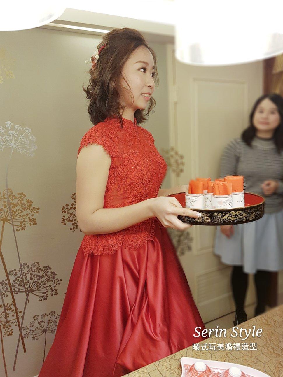 文定奉茶X短髮新娘編髮4 - Serin Style曦式玩美造型《結婚吧》