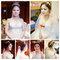 Serin新秘白紗造型皇冠新娘3