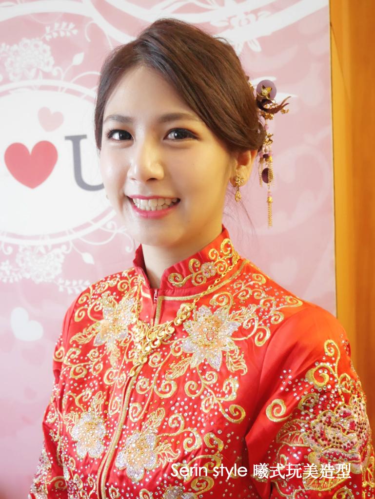 Serinmakeup中式新娘造型秀和服 - Serin Style曦式玩美造型《結婚吧》
