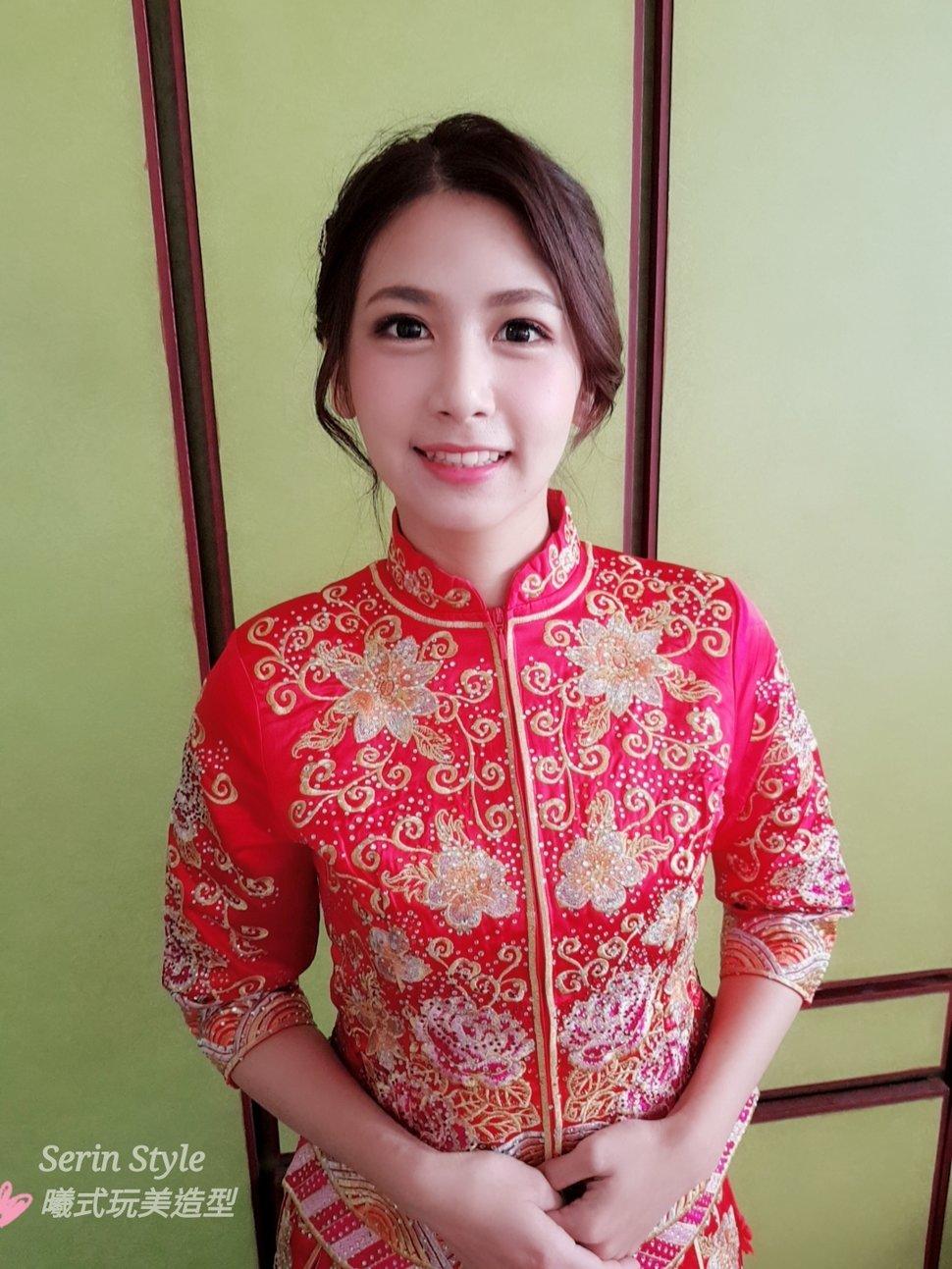 Serinmakeup新秘龍鳳褂造型1 - Serin Style曦式玩美造型《結婚吧》