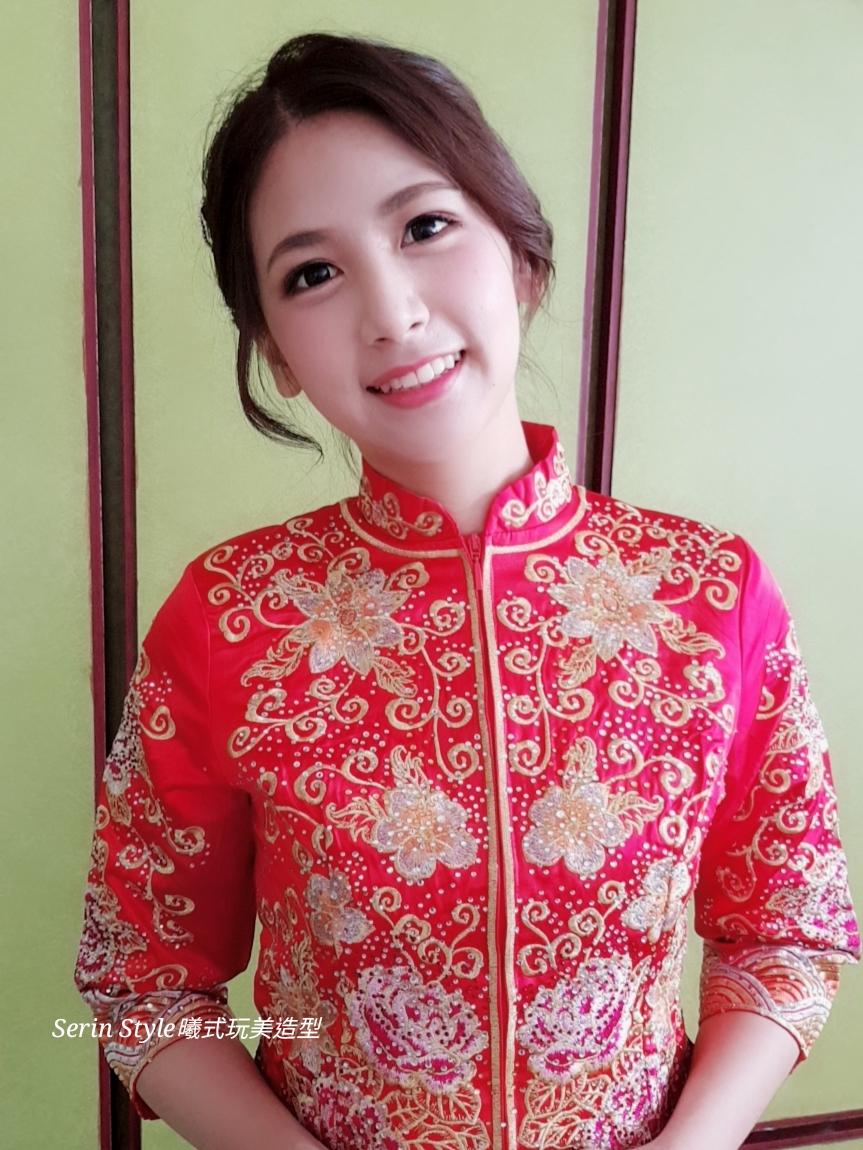Serinmakeup龍鳳褂秀和服新娘 - Serin Style曦式玩美造型《結婚吧》
