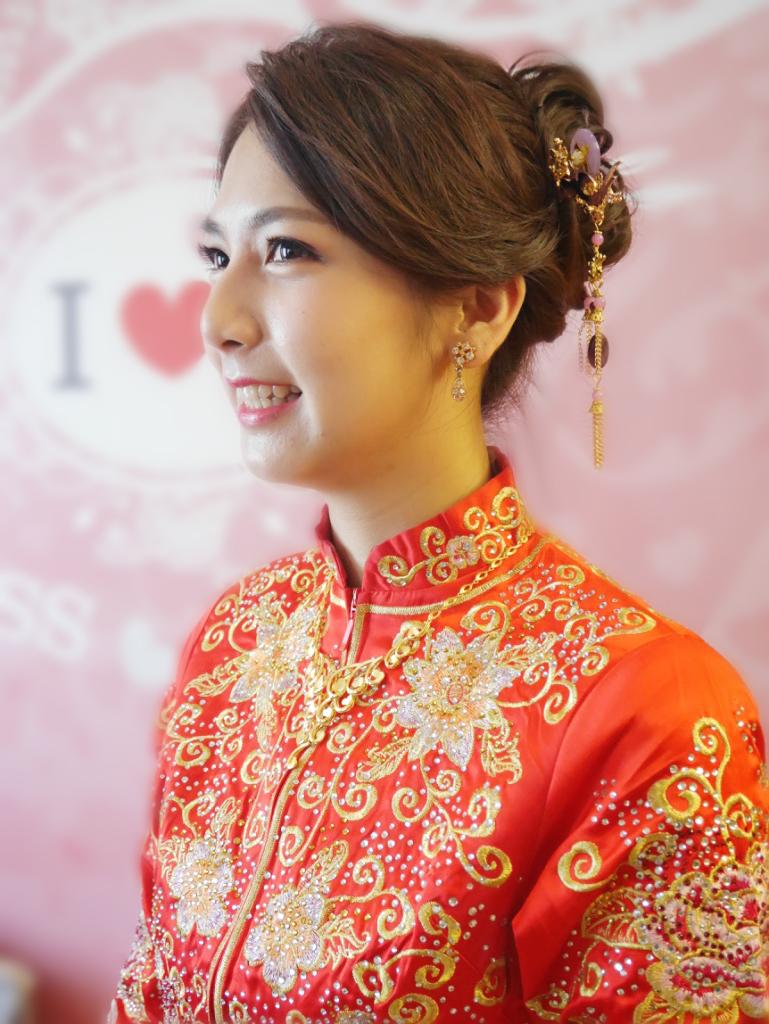 Serin新秘makeup中式龍鳳褂新娘秀和服 - Serin Style曦式玩美造型《結婚吧》