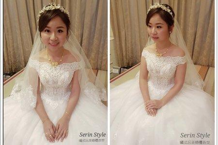 Serin新秘/白紗短髮新娘/茂園和漢