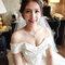 Serin桃園新娘秘書韓風白紗盤髮造型