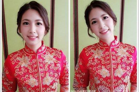 Serin曦曦/中式龍鳳褂/秀和服新娘