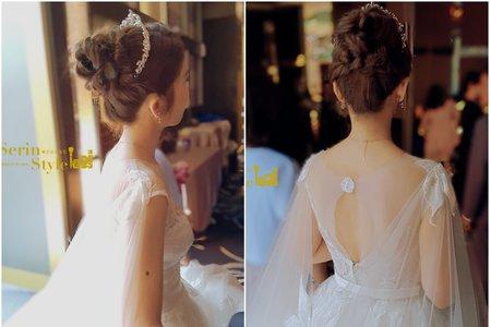 Serinstyle/韓風公主白紗造型/三重彭園