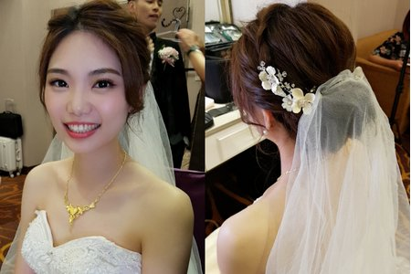 新娘單妝單造型